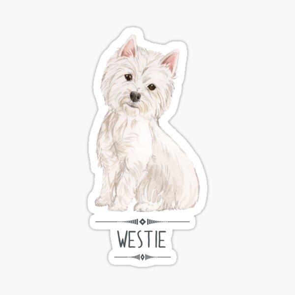 Westie - West Highland White Terrier Sticker