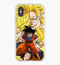 DBZ Goku Forms iPhone Case