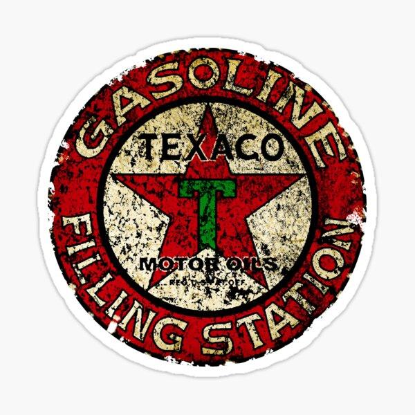 Signe Texaco Vintage USA Sticker