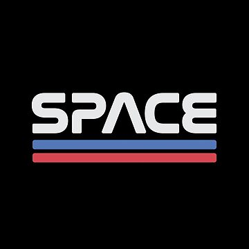 Vintage Nasa Space Worm Logo - Awesome Retro by RaveRebel