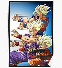 DBZ Son Goku Kamehameha Poster