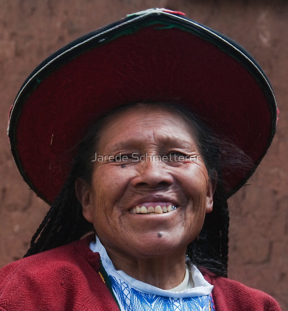 Incan Woman by Jarede Schmetterer