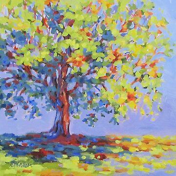 Rainbow Tree by karenilari