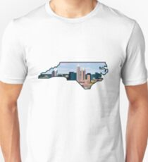 Charlotte Skyline North Carolina State Unisex T-Shirt