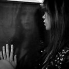 Noir Portrait Reflection by Jim Fisher