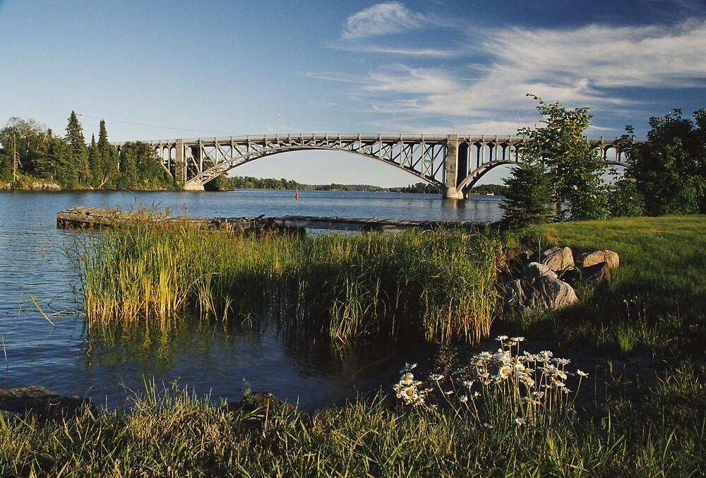 """  Keewatin Bridge  "" by fortner"