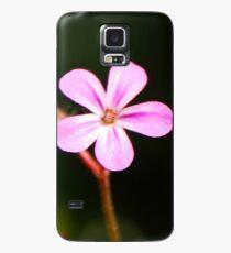 Tiny Pink Wild Flower Case/Skin for Samsung Galaxy