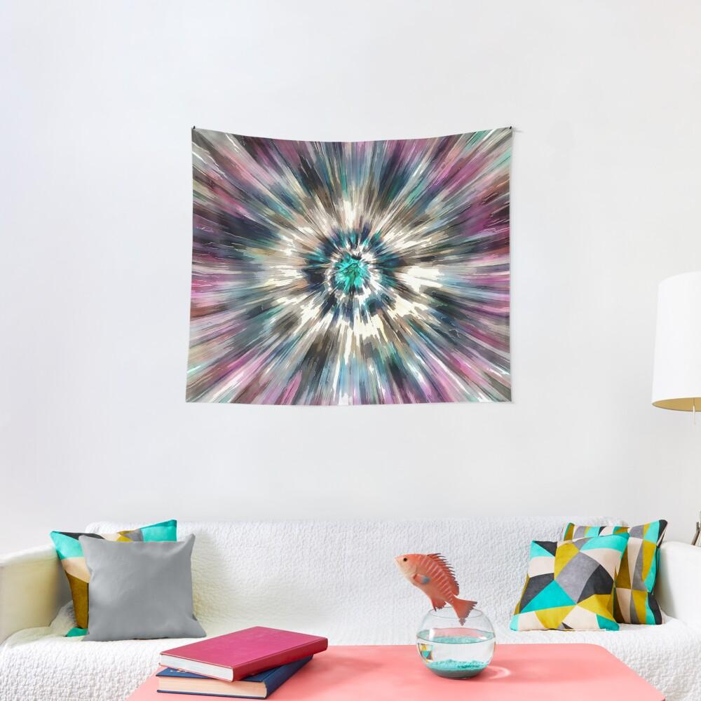 Starburst Tie Dye Tapestry
