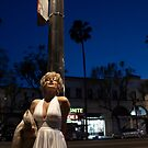 Marilyn Portraits on the Boulevard 1 by Jim Fisher