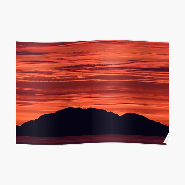 Sunset in Parallel Poster