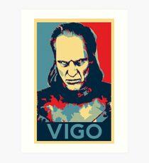 Vote Vigo Art Print
