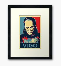Vote Vigo Framed Print