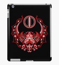 The Crimson Bat Steed of the Red Goddess by Kalin Kadiev iPad Case/Skin