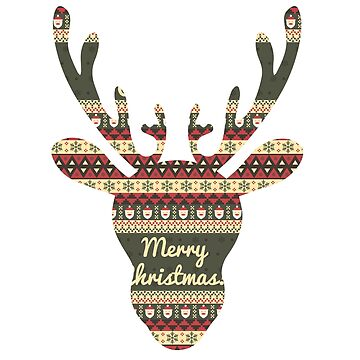 Reindeer Christmas Christmas by Shirt-Expert