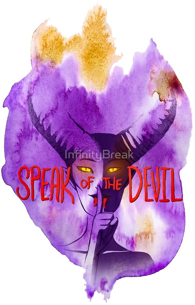 Speak of the Devil Full Logo by InfinityBreak