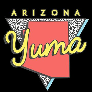 Yuma Arizona Souvenirs AZ Retro by fuller-factory