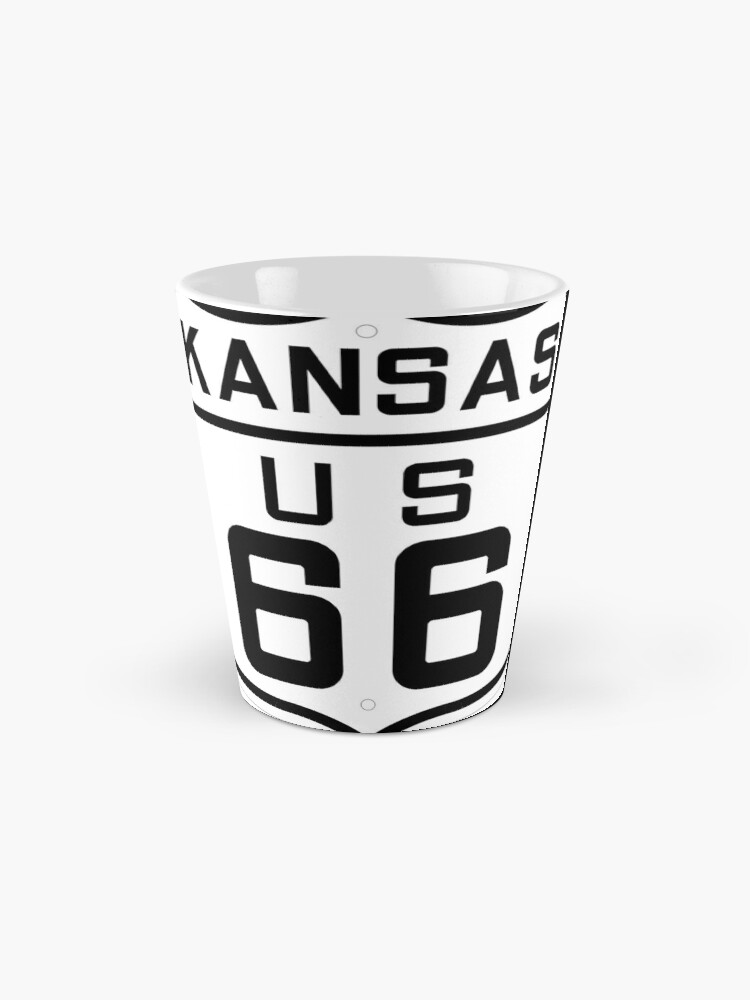 Alternate view of US Route 66 (Kansas) 1926 Cutout Edition Mugs