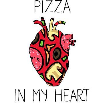 Pizza in my heart by soondoock