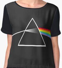 Pink Floyd The Dark Side of The Moon FanArt - C&A Music Chiffon Top