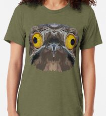 Topographic: Common Potoo Tri-blend T-Shirt