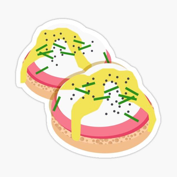 Eggs Benedict Sticker