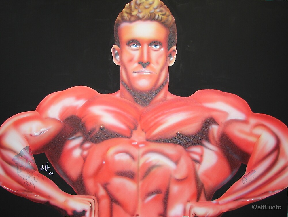 Six Time Mr. Olympia Dorian Yates by WaltCueto