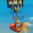 Oranda Balloon by Tom Parker