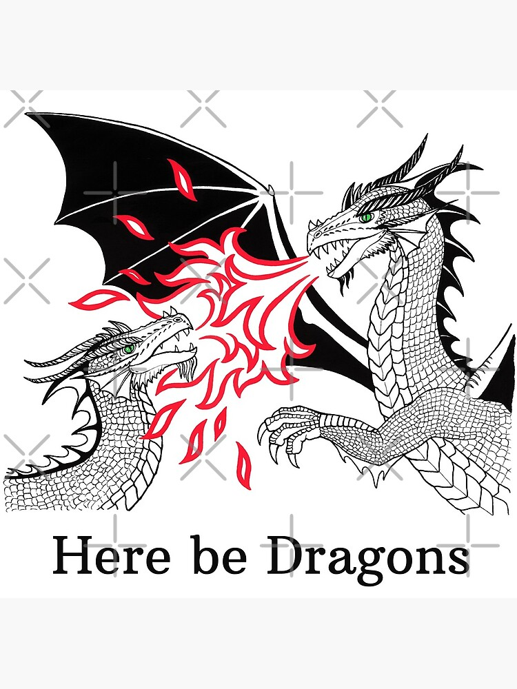 Dragons Fight by nadyanadya