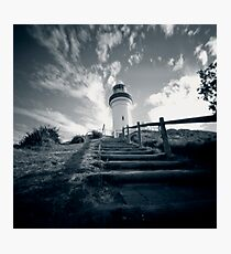 Byron Bay lighthouse - pinhole Photographic Print