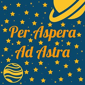 Per Aspera Ad Astra by believeluna