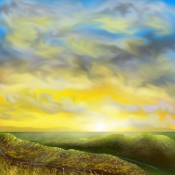 Rolling hills by thebigG2005