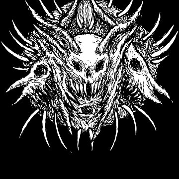 Devil, Satanic Shirt, Satan Occult, Death Metal, Metal Head, Rock Band, Hard Rock, Heavy Metal by kraftd