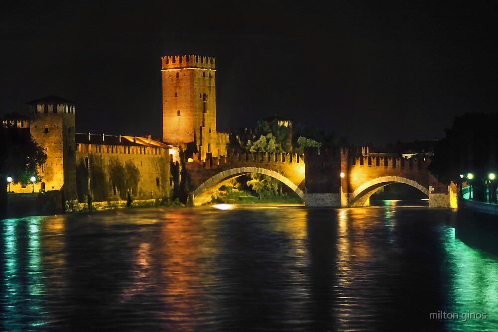 Verona Italy by Milton Ginos