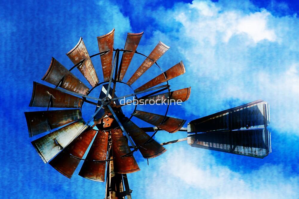 Farmer Tom's Windmill by debsrockine
