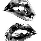 Black Biting Lips_ Version by doriana