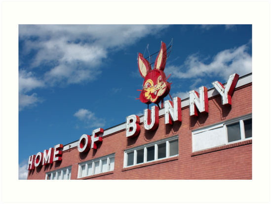 Home of Bunny (Bread) by Daniel Owens