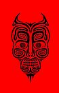 Tribal Demon by errorface