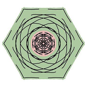 Earthy Hexagon by tmntphan