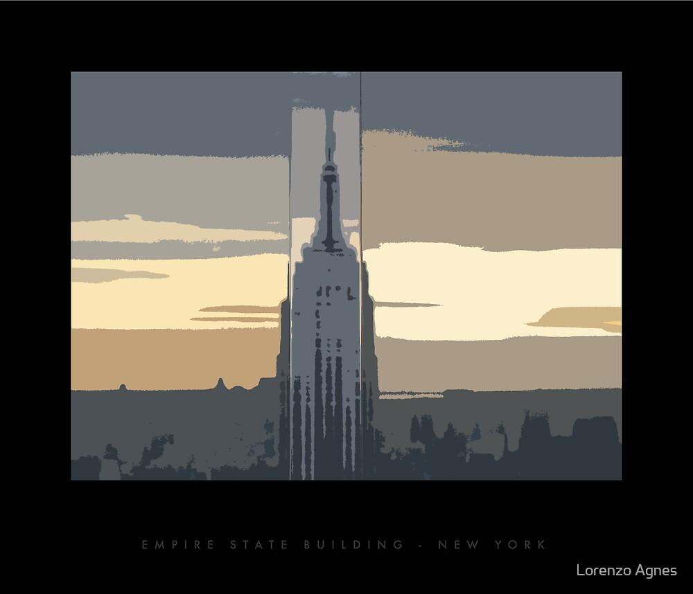 Empire State Building by zodezine