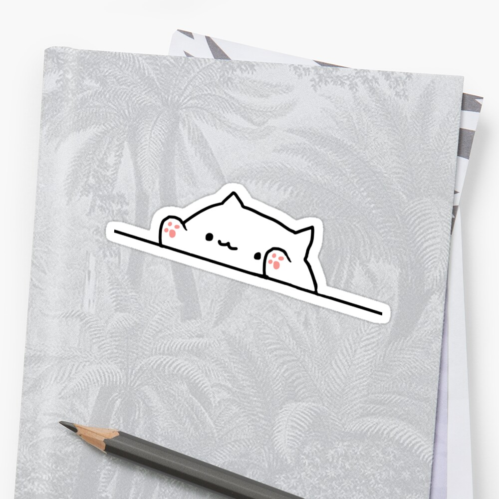 Bongo Cat Sticker