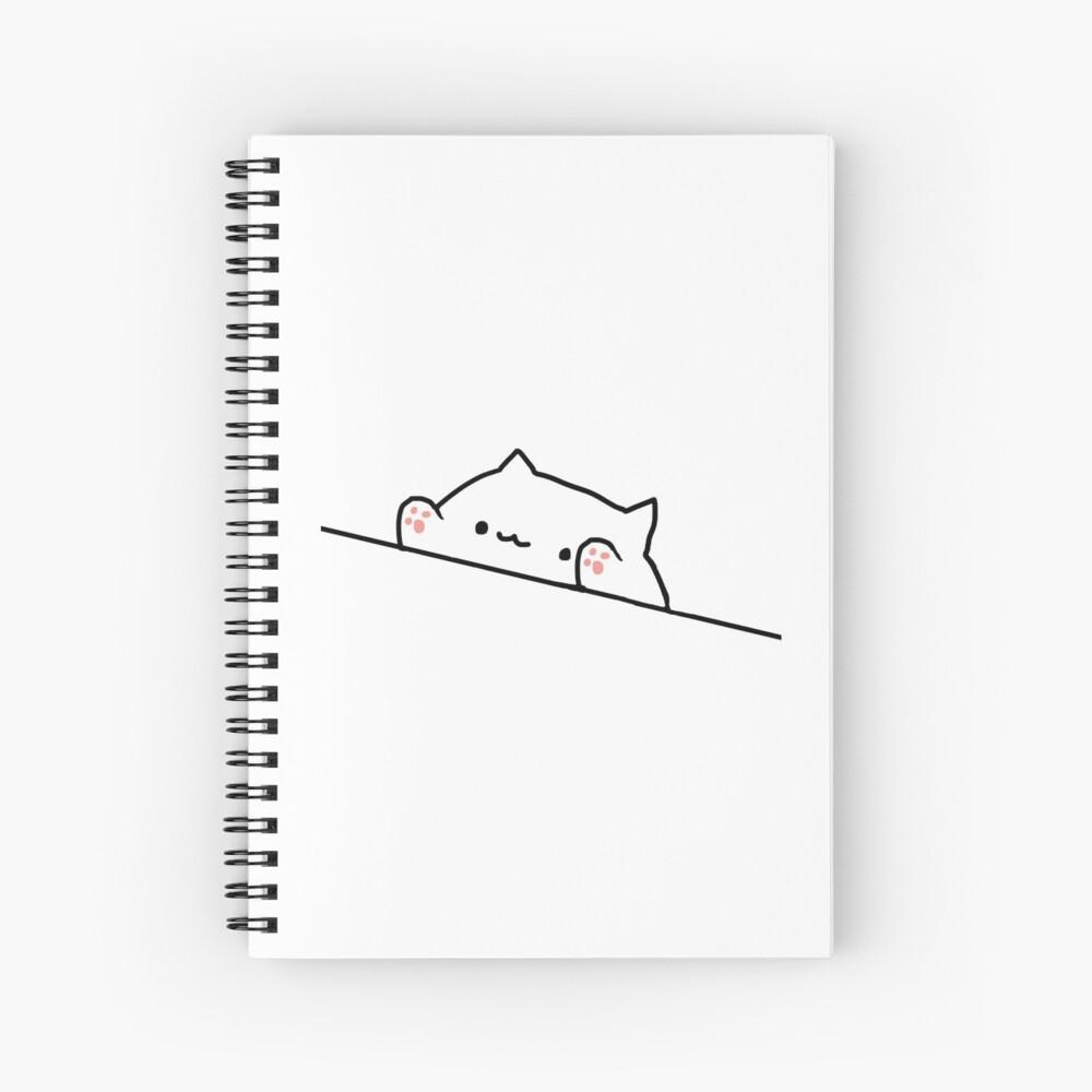 Bongo Cat Spiral Notebook