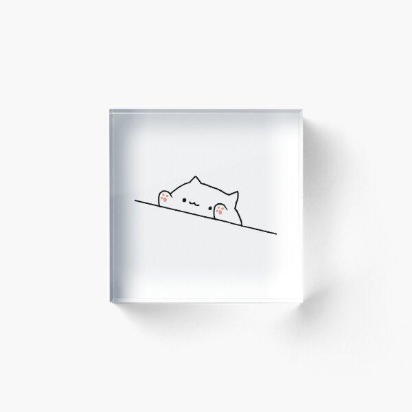 Bongo Cat Acrylic Block