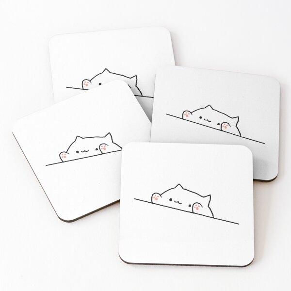 Bongo Cat Coasters (Set of 4)