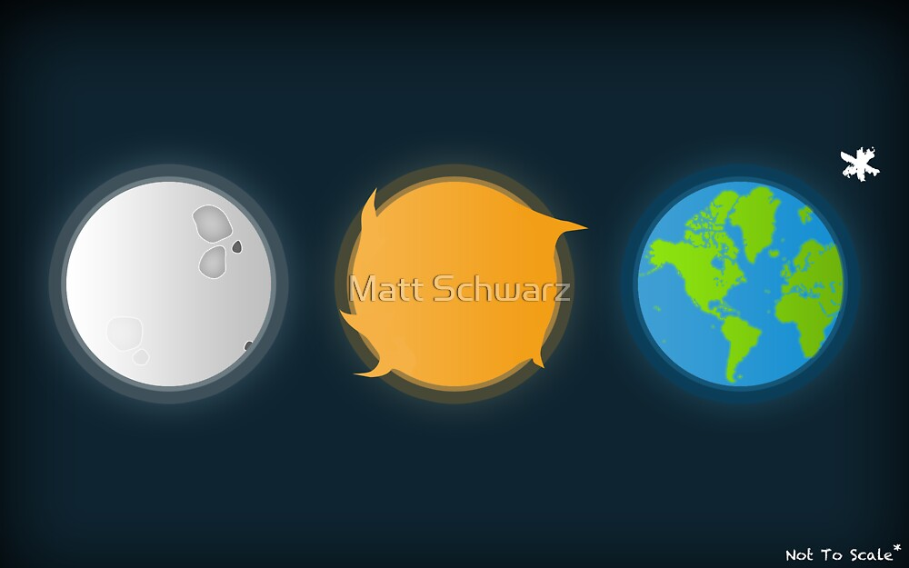 Not to scale by Matt Schwarz