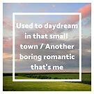 Iowa Sunset Quotation (John Cougar Mellencamp) by Rachel Jeffrey