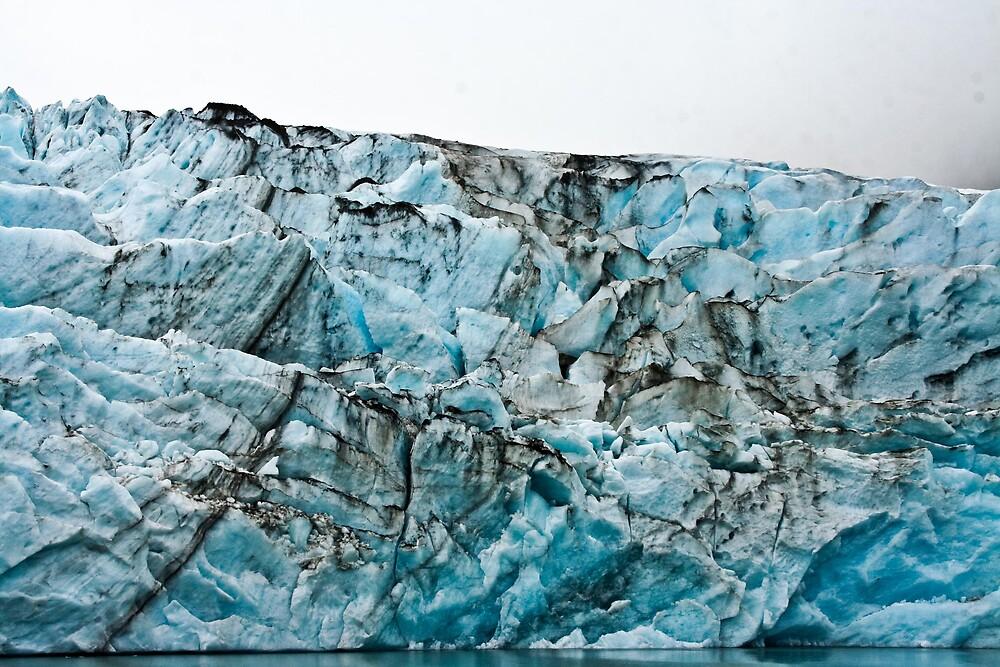 Portage Glacier  Alaska by MikeFancher
