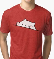 Bongo Cat Tri-blend T-Shirt
