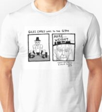 Giles Corey Goes To The Gym Unisex T-Shirt