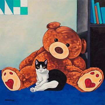 Snoopy and Big Bear by Manter-Bolen