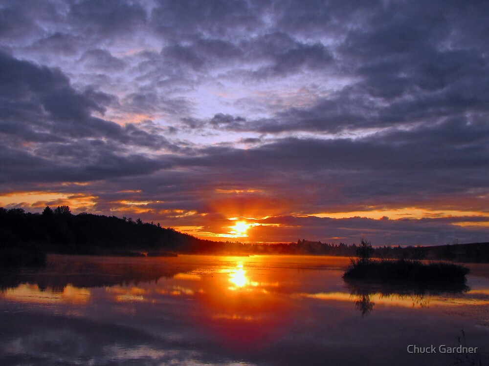 Sunrise at Kirk Park by Chuck Gardner